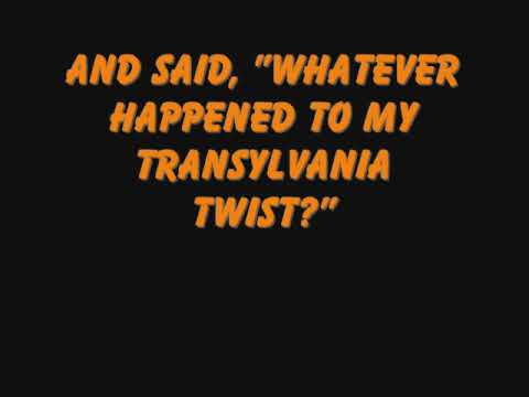 Monster Mash (lyrics) video