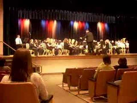 Richlands Middle School 8th grade band