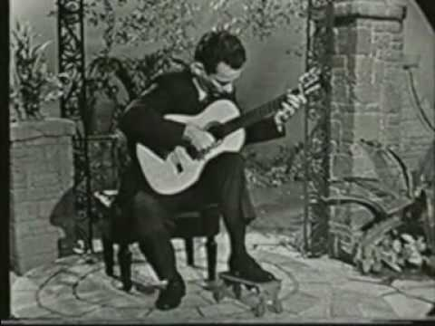 Rare Guitar Video: Jose Rey de la Torre plays Pavana by Luis Milan