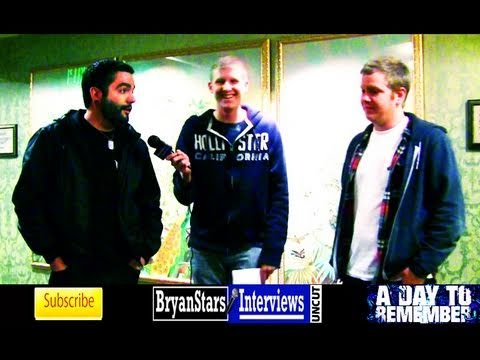 A Day To Remember Interview Jeremy McKinnon UNCUT 2011 Music Videos