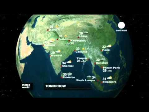 Euronews 2011 - closing no comment - meteo world - opening news
