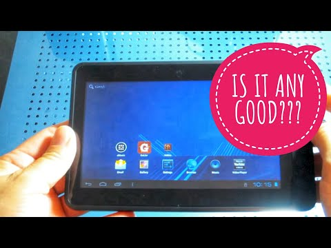 "COBY Kyros MID 7042-4 7"" Android Tablet Unboxing"