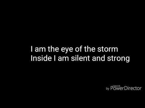 Watt White - Eye of the Storm - Lyrics