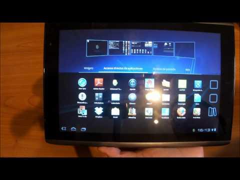 Review Acer Iconia Tab A500 en México parte 1
