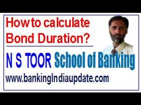 How to calculate Bond Duration?