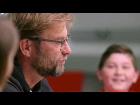 Young footballers quiz Jürgen Klopp | #Breakfastwith Klopp
