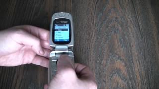 Vintage Pantech PN300 Cell Phone Review