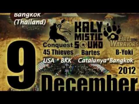 IllBilly Hitec ft Longfingah @ Bangkok with Miraculous, Nj Henessy, Kalymistic & more