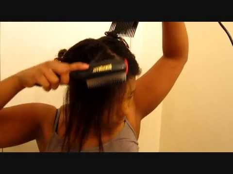 Straightening Series! Step 2: Blow Dry