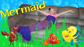 Real Life Mermaid in Our House || Mommy Monday