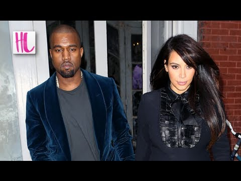 Kanye West Gay - Kim Kardashian Fears Says In Touch Magazine