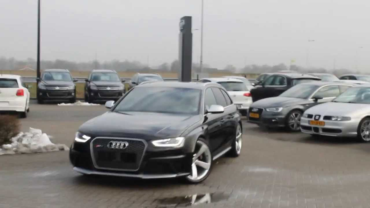 Audi Rs4 Avant B8 Revving Loud Sound Youtube