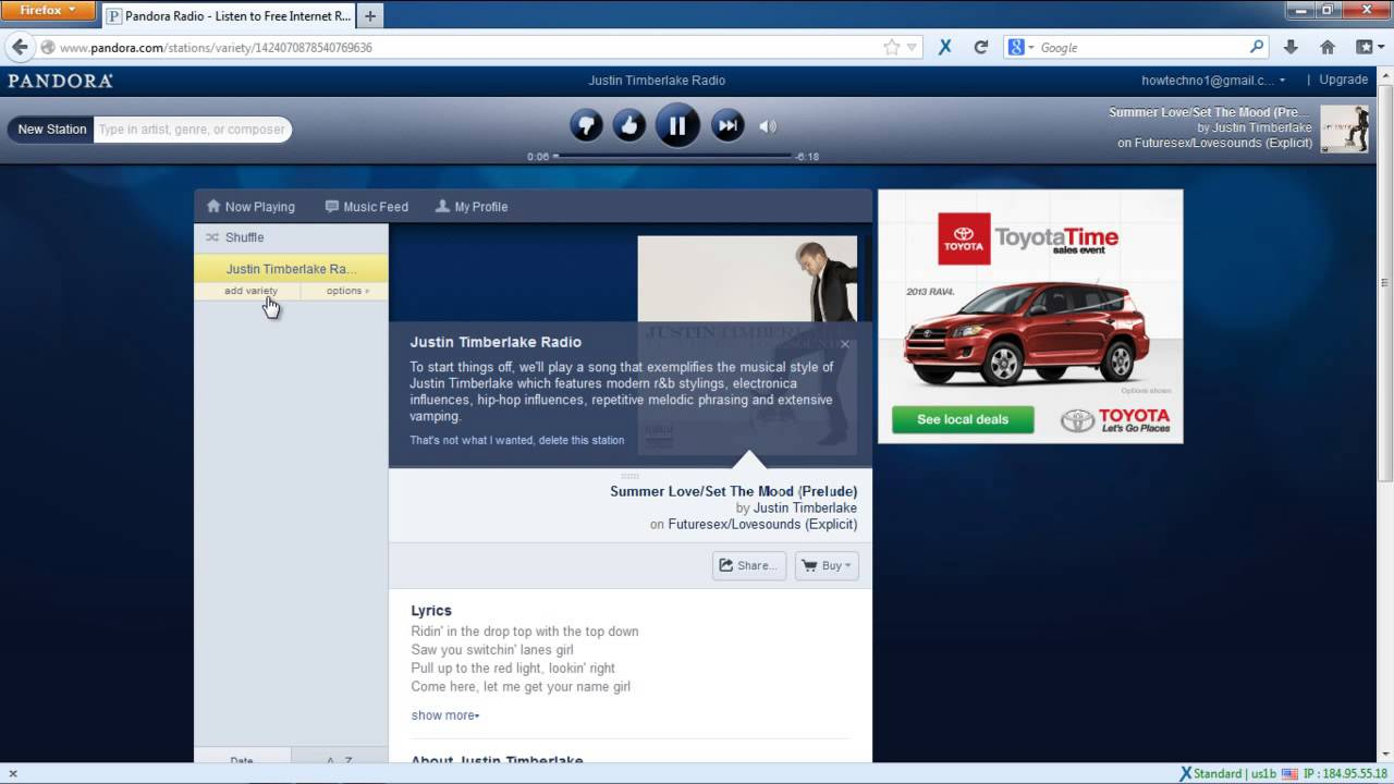 How to use pandora radio to find the best music youtube