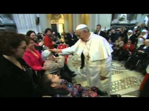 Pope Francis takes possession of St. John Lateran