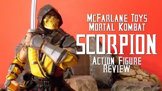 SCORPION - McFarlane MK11 Figure Review