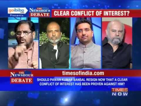 The Newshour Debate: Is it time for Pawan Kumar Bansal to resign? (Part 3 of 3)