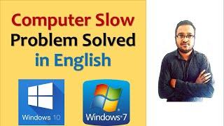 windows 7 slow how to speed up/windows 7 slow performance fix