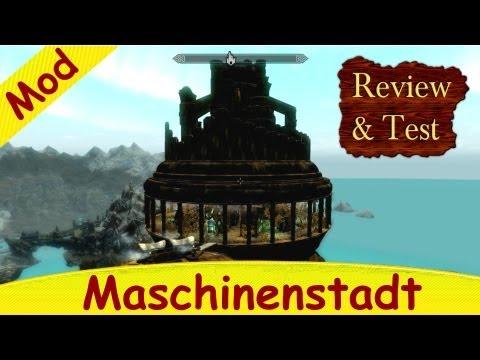 Skyrim Mod - Fliegende Dwemerstadt [Maschinenstadt] Review & Test