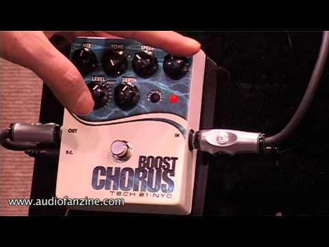Tech 21 Boost Chorus Video Demo [NAMM 2011]