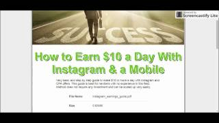 Earn with Instagram