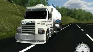 German Truck - Scania 113H Q.R.A DJ Lincoln !!!