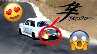 SIMCA 1000 HAYBUSA Show & on board [HD] BEST RALLYES 06