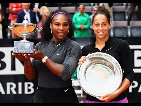 2016 Internazionali BNL d'Italia Final WTA Highlights | Serena Williams vs Madison Keys