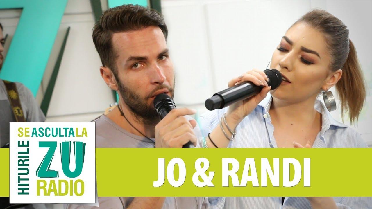 JO feat. Randi - Ma intreaba inima (Live la Radio ZU)