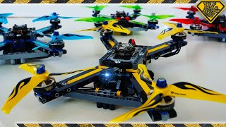 80Mph Racing Drones made from Lego Technics