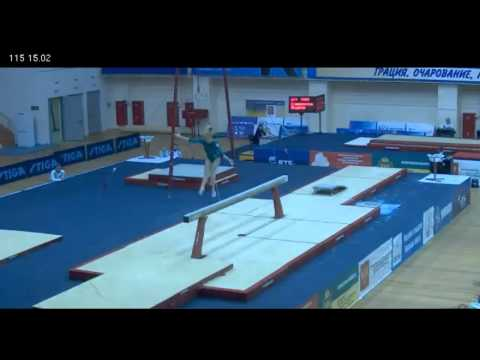 Ksenia Afanasyeva - Beam - Russian Championships, 3/21/2012