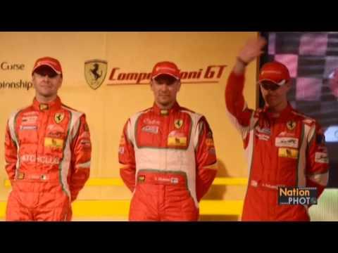 งานแถลงข่าวสิงห์สนับสนุนทีมเอเอฟ คอร์เซ่ แชมป์โลก FIA WEC GT Championships