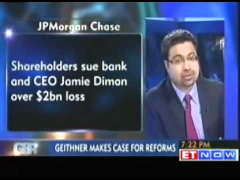 JPMorgan Chase shareholders sue CEO Dimon over $2bn loss