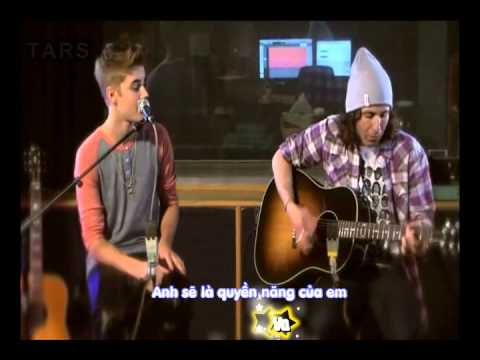 as long as you love me justin bieber acoustic instrumental