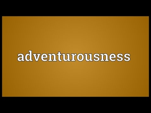 Header of adventurousness