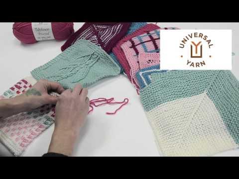 Afghan Knitalong - Mattress Stitch Seaming