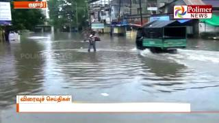 Heavy Rains in North India - water flooded in the roads of Gujarat, Rajasthan & Assam   Polimer News