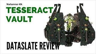 Warhammer 40k Tesseract Vault Necron Review