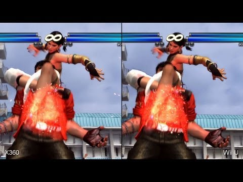 Tekken Tag Tournament 2 Wii U vs. Xbox 360 Comparison Video