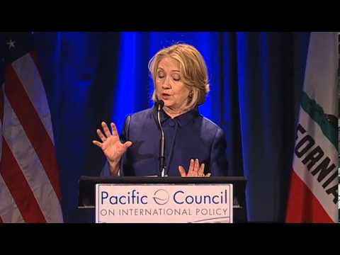 Hillary Rodham Clinton on the future of US-China relations