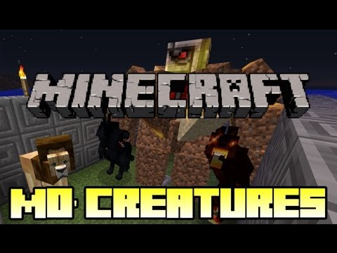 Minecraft Mod Showcase - Mo' Creatures - Mod Review