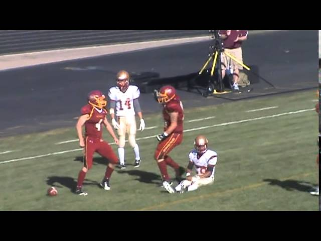 11-8-14 - It's a 69 yard TD run for Kyle Rosenbrock (Brush 6, Faith Christian 0)