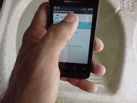 Testando o meu Motorola Defy Mini XT 320