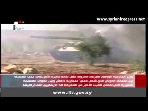 Journal de Syrie 2/3/2015 ~  L'Armee Syrienne progresse dans de differentes zones