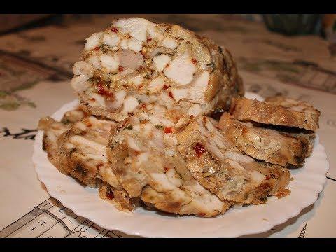 Классная штучка для бутербродов  Куриный рулет