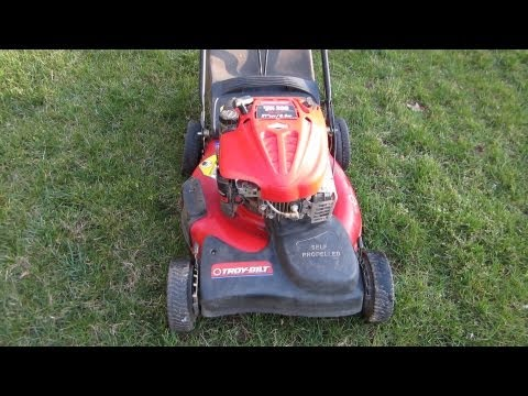 Troy Bilt Broken Craigslist Find Lawn Mower Repair - Part I - March 3. 2013