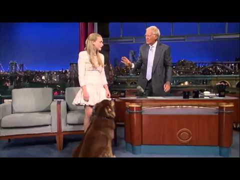 David Letterman Show Amanda Seyfried  Show 07 30 13  HD)