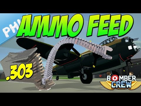 Bomber Crew - Tail Turret AMMO FEED Upgrade (Bomber Crew Gameplay)