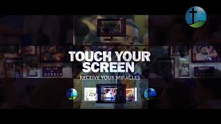 """TOUCH YOUR SCREEN RECEIVE YOUR MIRACLES"" WITH PROPHET SURAPHEL DEMISSIE"