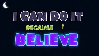 I Can Do it | Believe Kids Song | Kids Praise Songs | Nursery Rhymes | Worship | by Tunes 4 Learning