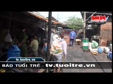 Bat Qua Tang Co So Tai Che Dau Nhot Thai Gay O Nhiem Moi Truong video